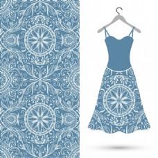 服装设计图案插画