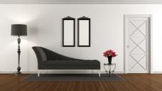 现代简约室内设计客厅效果图图片