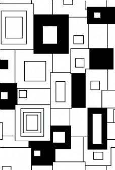黑白几何背景纹理图