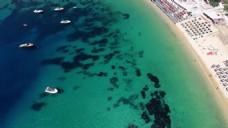 航拍海洋风景视频