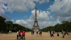 巴黎景点风景视频