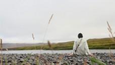 河流河边鹅卵石视频