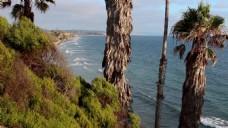 热带海边风景视频