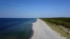 沙滩风景视频素材