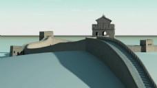 中式复古建筑视频