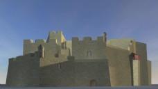 城墙建筑视频素材