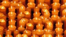 集体蜡烛烛台视频