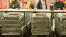 人物超市购物视频素材