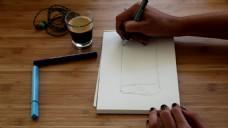 人物绘画视频素材