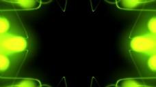 绿色光斑线条视频