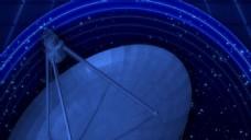 卫星天空视频素材