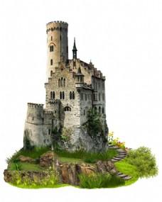 复古欧式城堡元素