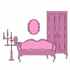 手绘室内装饰元素