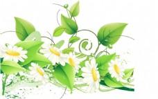 绿色植物矢量元素