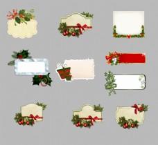 圣诞老人边框