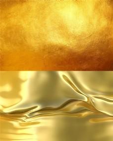 金色纹理背景图