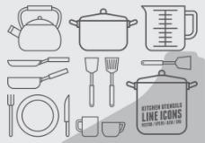 厨房工具素材