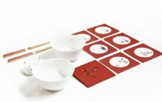 陶瓷碗筷子