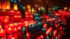 蜡烛光线视频素材