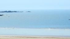 海滩海水流动视频