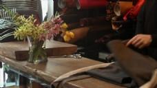 实拍餐桌视频素材