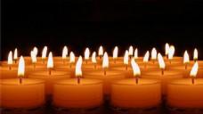 蜡烛燃烧视频素材