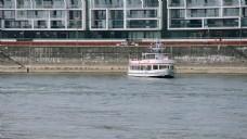 河流小船视频素材