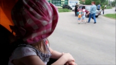 街头人物视频素材