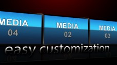 商务风格的实用图片字幕展示模版