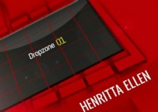 红色跳动小方块展示视频的PR模板