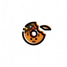 MBE甜甜圈卡通描边图标icon