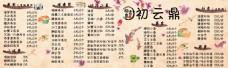 日系小清新寿司招牌设计