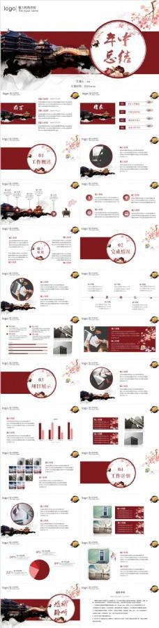 古典简约中国风全行业通用PPT模板