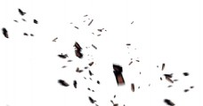 手绘飘浮卡片元素