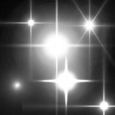 闪光光效发光十字光