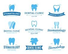 简约牙齿图标设计矢量素材
