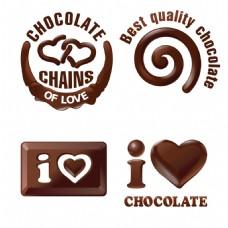 创意巧克力浆图标