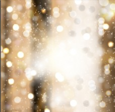金色渐变粒子光斑背景矢量素材