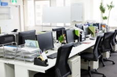办公室效果图图片