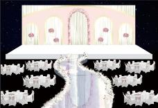 婚礼布置效果图