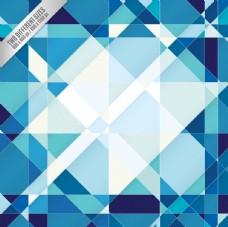 蓝色抽象几何背景