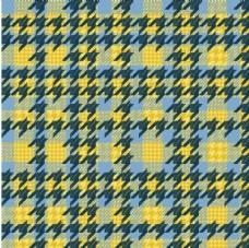 黄色图案背景