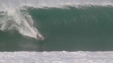 人物海上冲浪视频素材