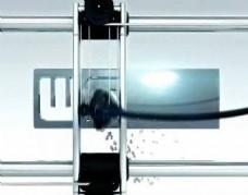 机械制作广告牌片头会声会影模板