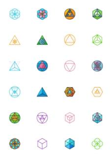 神圣几何图标