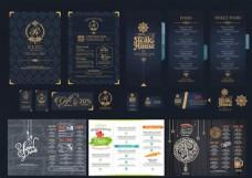 英文菜单画册