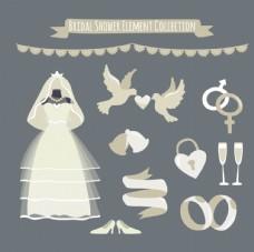 结婚婚礼元素