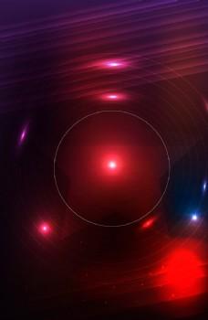 红色时尚星光海报背景图