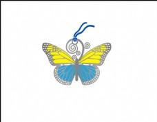 蝴蝶薄片 书签