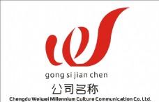 w字体 logo设计